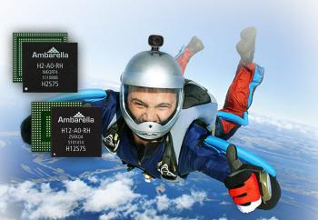 Ambarella Introduces Low Power 4K Ultra HD SoCs for Sports and Flying Cameras