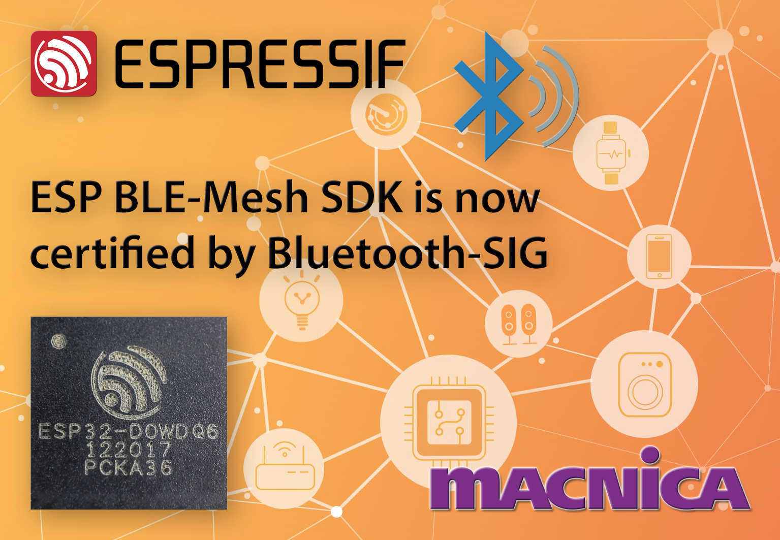 Espressif's BLE Mesh SDK Is Now Bluetooth-SIG-certified